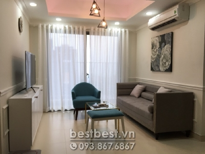 Apartment for rent in District 02 - Masteri Thao Dien . This apartment Located on 28 floor of Tower 5  facing city view.  One of the best city view on Tower 5.  