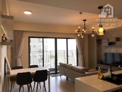 Apartment for rent in District 02 - Masteri Thao Dien . Located on 159 Hanoi Highway street , Thao Dien Ward, District 2, HCMC, This apartment Located on 30 floor of Tower 5 facing city view.