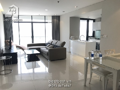 Apartment for rent in Saigon - City Garden Apartments Project. It's located on Ngo Tat To Street, Binh Thanh District, HCMC, Vietnam. This location is very near downtown of HCM City. Ideally positioned within 5 minutes from the City business center, cafes, restaurants and fashion retailers, the building is nestled away from the bustle of the