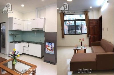 Serviced apartment for rent in district 03 – Brand new 01 bedroom Apartment for rent. Located on Ly Chinh Thang street , district 03, Center of Ho Chi Minh City. Good location for going everywhere.