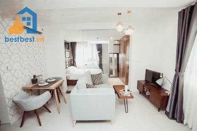 Serviced apartment for rent in district 03  Located on Vo Thi  street , district 03, Center of Ho Chi Minh City. Close to Ben Thanh market. Good location for going everywhere. 