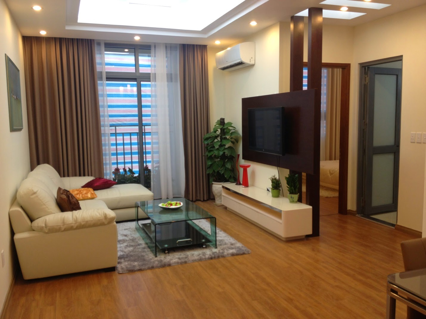 Can ho Orchard 1PN tien nghi view cong vien